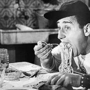 Acteur Alberto Sordi in Americano a Roma 1954 Mind Your Guest Maak van uw restaurant een blockbuster Robert Bosma