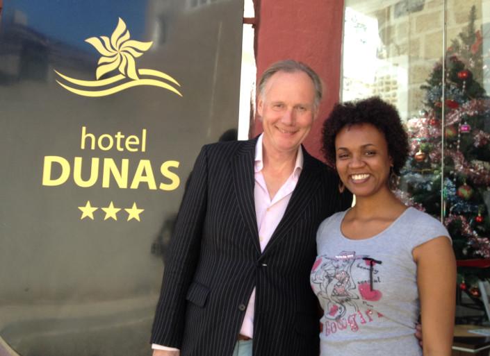 Sara Livramento Manager Hotel Dunas Mind Your Guest Robert Bosma