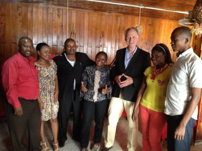 horeca groupe congo rwanda bukavu training missie model van aandacht gastvrijheid service kwaliteit the connect effect Mind Your Guest Robert Bosma