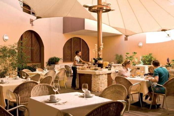 Restaurant A Tenda Hotel Dunas Boa Vista Sal Rei Cape Verde