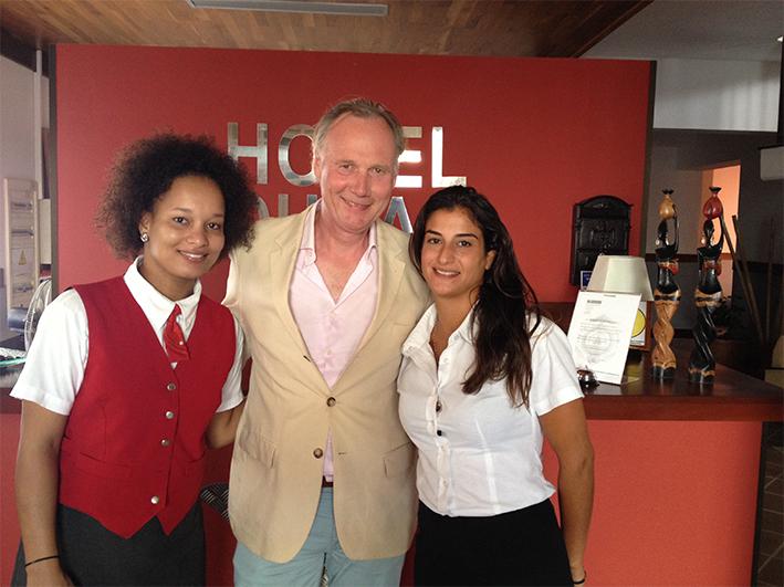 hospitality klantvriendelijkheid training gastvrijheid Hotel Dunas Hotel Dunas Boa Vista Cape Verde Mind Your Guest Robert Bosma