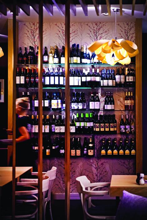 Restaurant Groenland Driebergen biologisch lounge bar upstairs lunch diner Niels Oosthoek Astrid Oudenaller Mind Your Guest Robert Bosma
