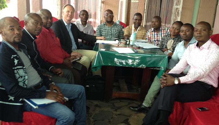 kongo horeca groupe congo rwanda bukavu training missie model van aandacht gastvrijheid service kwaliteit the connect effect Mind Your Guest Robert Bosma